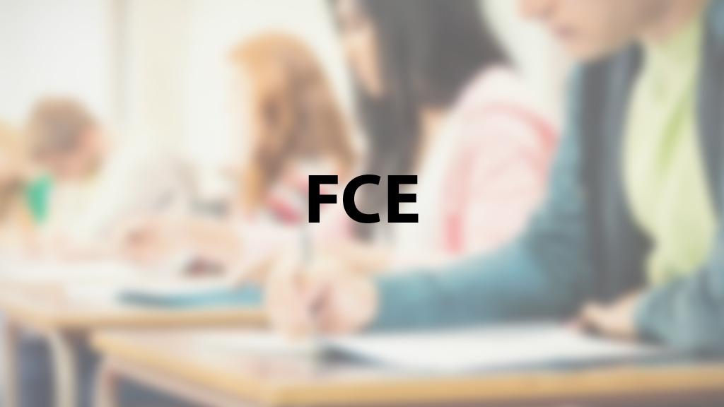 Exámenes FCE
